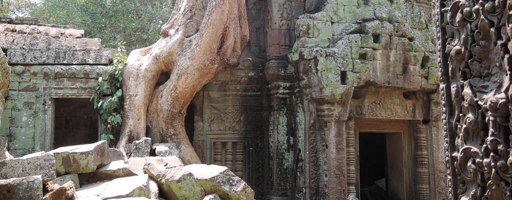 Ta Prom-Tempel in Angkor